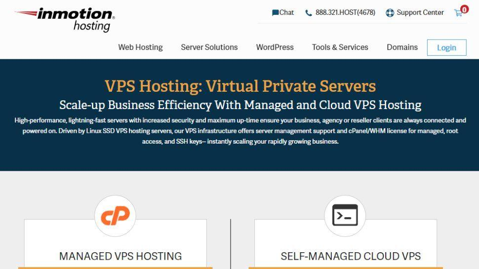 InMotion vps